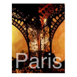 Romantic Paris Postcard