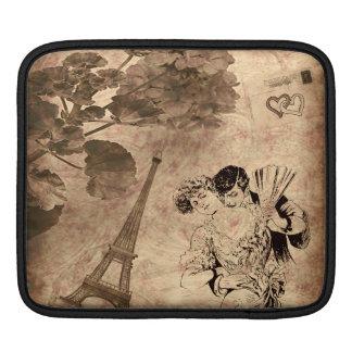 Romantic Paris Vintage Sleeve For iPads