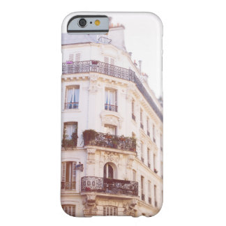 Romantic Parisian Building, Soft Pastel Photo Barely There iPhone 6 Case