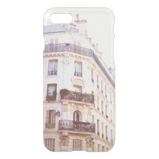 Romantic Parisian Building, Soft Pastel Photo iPhone 7 Case