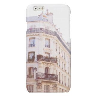 Romantic Parisian Building, Soft Pastel Photo Matte iPhone 6 Case
