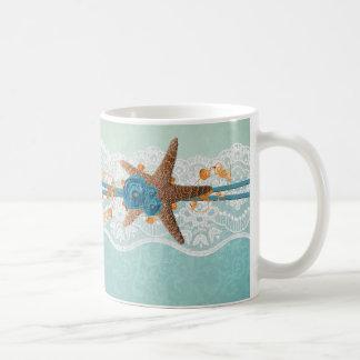 Romantic Party Summer Starfish Mug