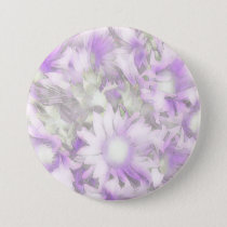 Romantic pastel floral,lilac button
