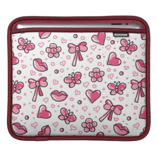 romantic pattern sleeve for iPads