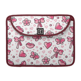 romantic pattern sleeve for MacBook pro