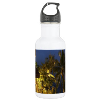 Romantic peace and joy Sentosa Water Bottle