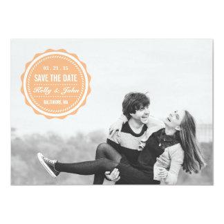 Romantic Photo Save The Date Personalized Invites