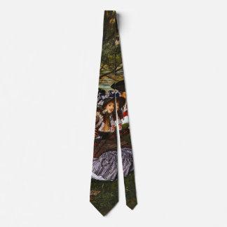 Romantic Picnic 1873 Tie