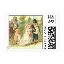 Romantic Pigs Postage