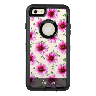 Romantic Pink Dahlia Flowers any Color any Text