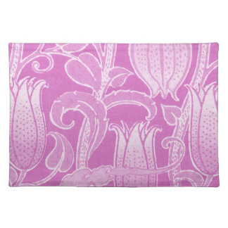 Romantic Pink Floral Design Mojo Placemat