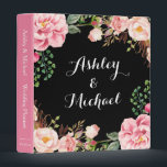 """Romantic Pink Floral Wreath Wedding Planner 3 Ring Binder<br><div class=""""desc"""">================= ABOUT THIS DESIGN ================= Romantic Pink Floral Wreath Wedding Planner Binder. (1) For further customization, please click the &quot;Customize&quot; button and use our design tool to modify this template. All text style, colors, sizes can be modified to fit your needs. (2) If you need help or matching items, please...</div>"""