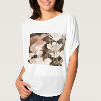 Romantic Pink Flowers Photograph, Nature Forals T-Shirt