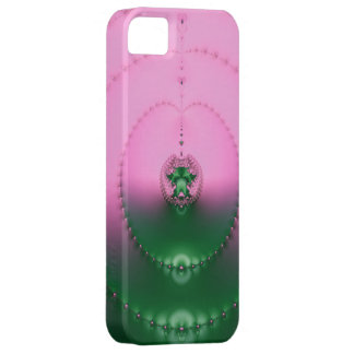 Romantic Pink Fractal iPhone 5 Case by EML