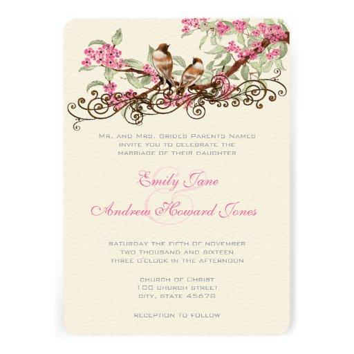 Lovebird Wedding Invitations is luxury invitation template