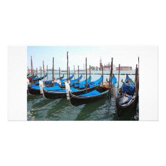 Romantic places in Venice Photo Card