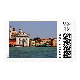 Romantic places in Venice Postage