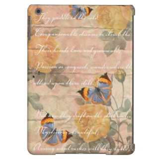 Romantic Poetry Case For iPad Air