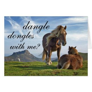 romantic proposition card