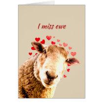 Romantic Pun Love Ewe  Funny Sheep Animal Humor