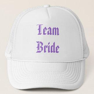 Romantic Purple Passion Flower Wedding Favor Trucker Hat