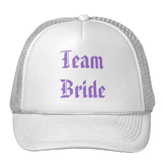 Romantic Purple Passion Flower Wedding Favor Trucker Hat