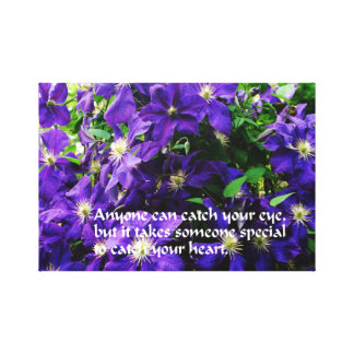 Romantic quote canvas prints