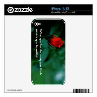 Romantic Quote Decal For The iPhone 4S