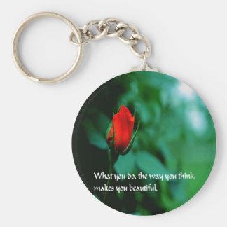 Romantic Quote, Love, Keychain