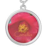 Romantic Red Camellia Jewelry