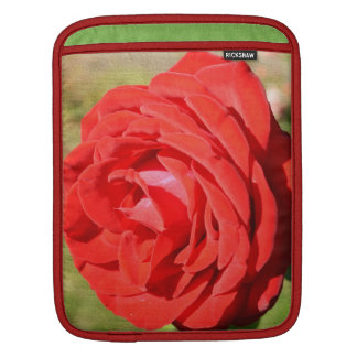 Romantic Red Rose Sleeve For iPads