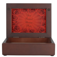 Romantic Red Roses Memory Box