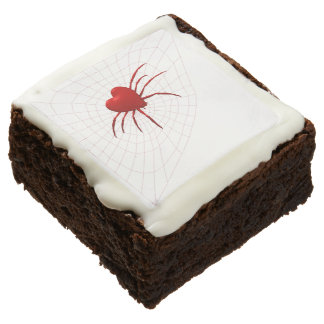 Romantic Red Spider Brownie