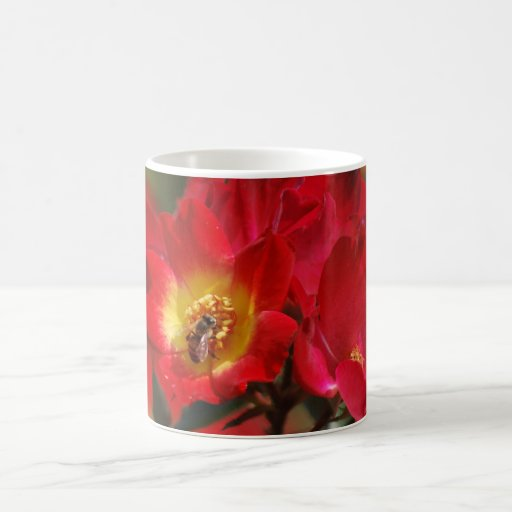 Romantic rose and meaning mug
