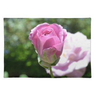 Romantic Rose Bud Cloth Placemat