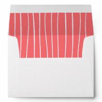 Romantic Rose Custom Bridal Shower Envelopes