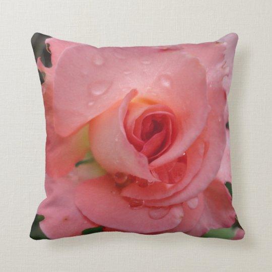 Romantic Rose Decorative Throw Pillow Zazzle.com