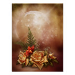 Romantic Rose Fantasy Poster