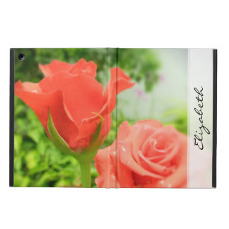Romantic Rose Flowers Cover For iPad Air