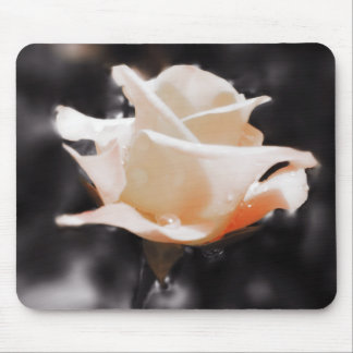 Romantic Rose Flowers Mouse Pad