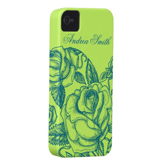 Romantic Rose iPhone 4 Case
