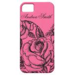 Romantic Rose iPhone 5 Cover