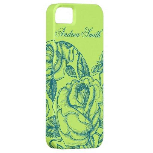 Romantic Rose iPhone SE/5/5s Case