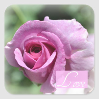 Romantic Rose Love Stickers