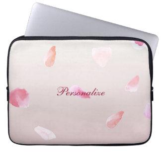 Romantic Rose Petals Laptop Sleeve