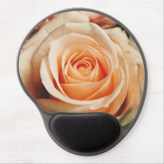 Romantic Rose Pink Roses Floral Flower Gel Mouse Pad