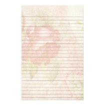 Romantic Rose Stationery