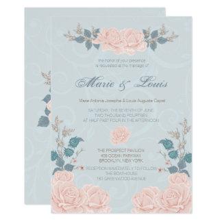 Romantic Rose Wedding Invitations