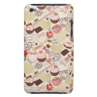 Romantic Roses and Dessert iPod Touch Case-Mate Case
