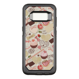 Romantic Roses and Dessert OtterBox Commuter Samsung Galaxy S8 Case
